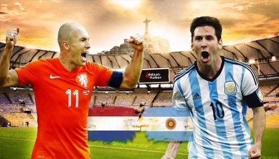 نتیجه بازی آرژانتین و هلند