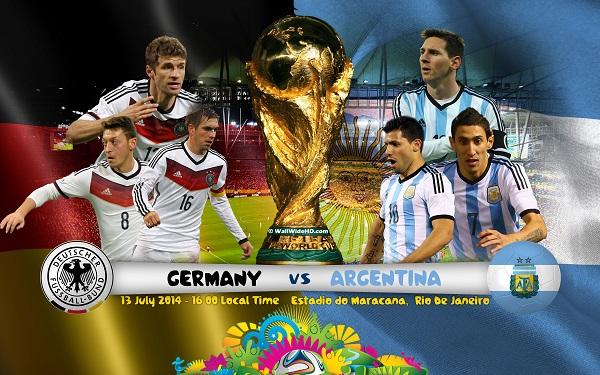 دانلود مراسم اهدای جام آلمان و آرژانتین با کیفیت HD