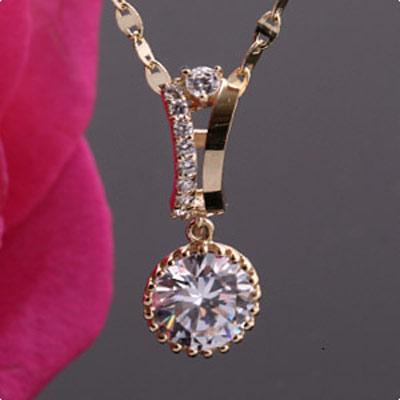 زیباترین مدل گردنبند طلا و جواهر 2014