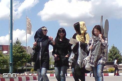 تصاویری از آزاد ترین دانشگاه در ایران