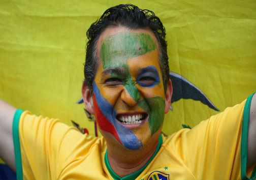 تصاویر جالب و دیدنی بازی برزیل و آلمان