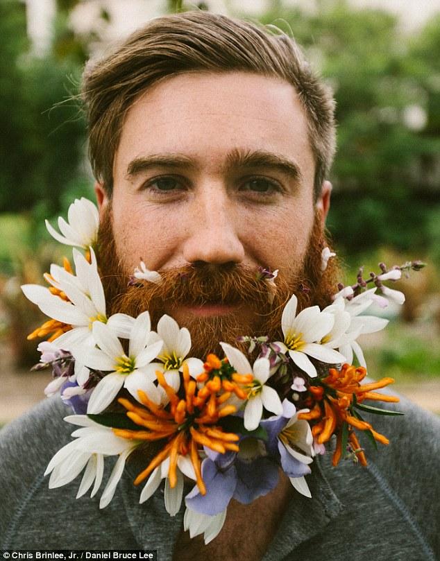 مدلهای خنده دار ریش با طرح گل