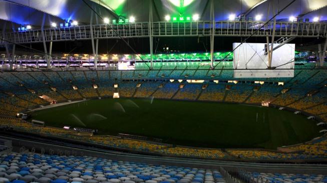 تصاویری اعجاب انگیز از استادیوم فینال جام بیستم