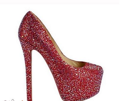 تاپ ترین مدل کفش مجلسی قرمز رنگ