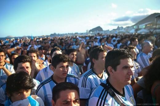 تصاویر دیده نشده از هواداران آرژانتین