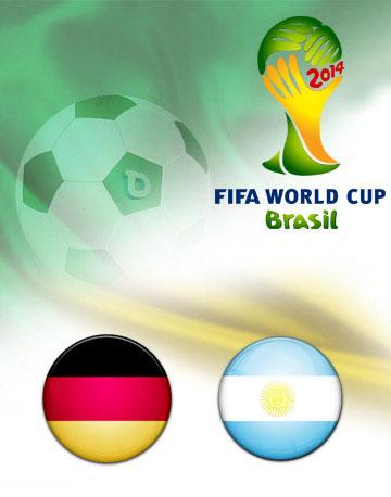 دانلود خلاصه بازی آلمان و آرژانتین با کیفیت HD