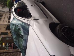 حادثه رانندگی برای خواننده پاپ