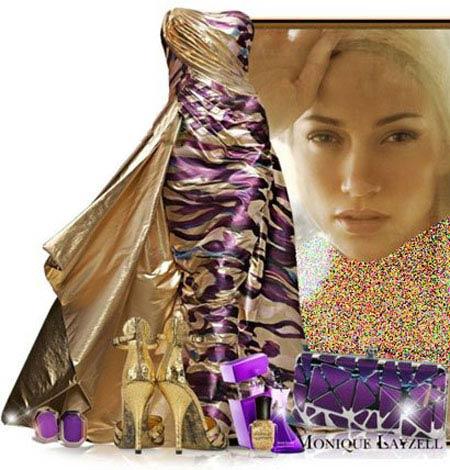 زیباترین ست لباس به سبک جنیفر لوپز