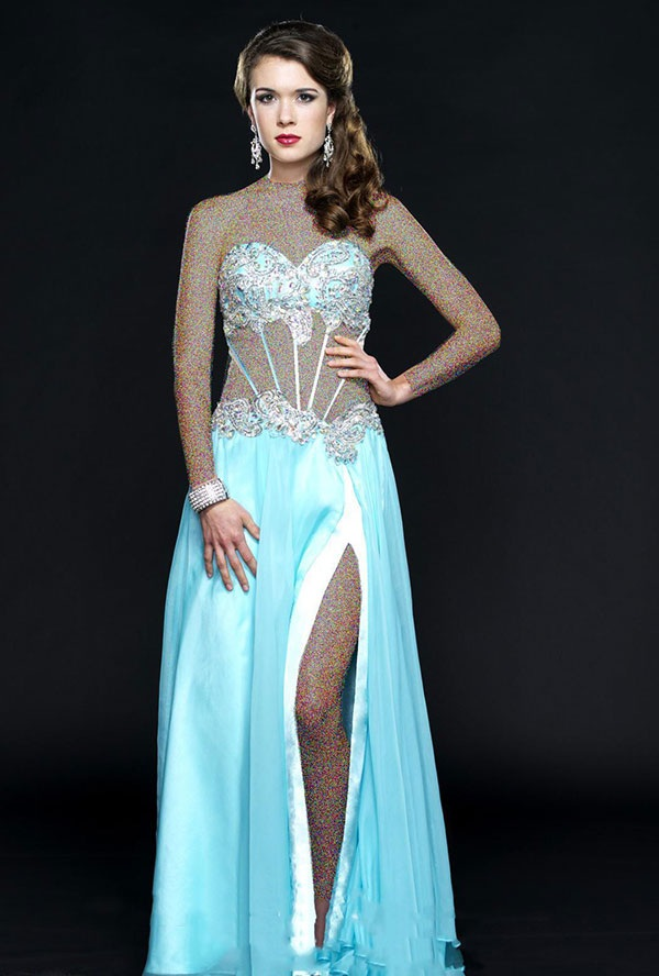 مدل جذاب و زیبا از لباس مجلسی زنانه 2015