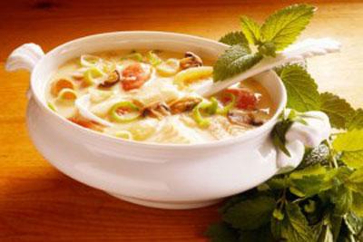 طرز تهیه سوپ خوشمزه چربی سوز