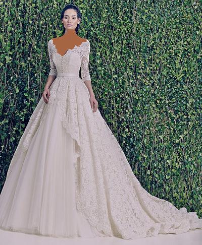 مدل جدید از لباس عروس تابستانی