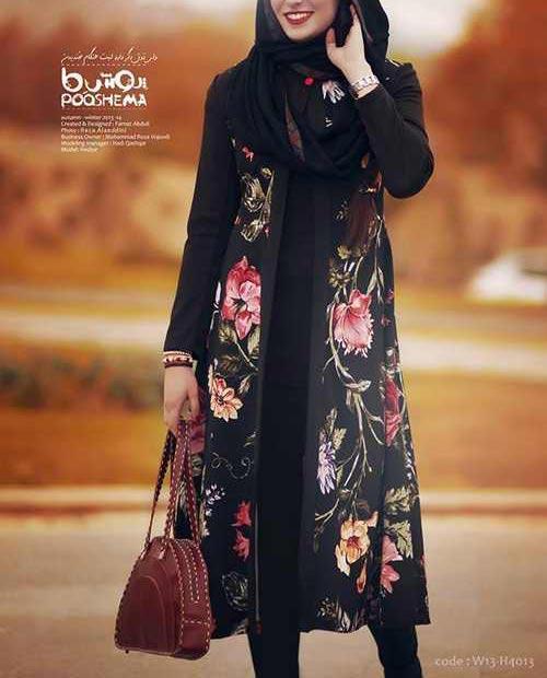 لباس زیبای زمستانی از برندهای ایرانی