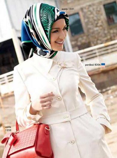 مانتو های مجلسی زنانه با حجاب اسلامی