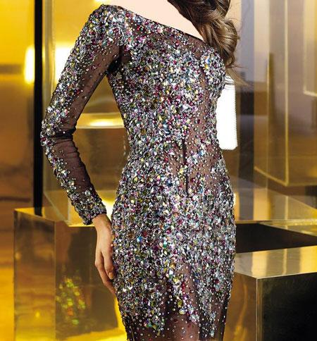 لباس مجلسی بسیار زیبای مشکی