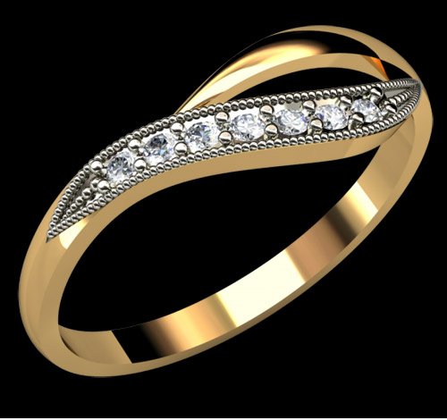 مدل زیبا از انگشتر های شیک عروس خانم ها