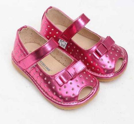 مدل کفش های عروسکی دختر بچه های کوچولو