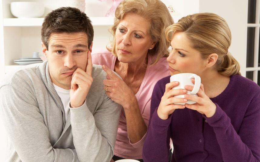 ازدواج با مرد وابسته به مادر