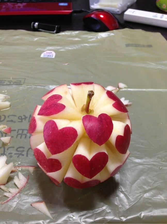 مدل های تزیین سیب