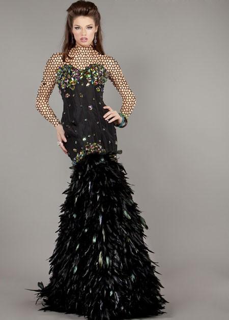 مدرن ترین مدل لباس مجلسی با پارچه های کلاسیک