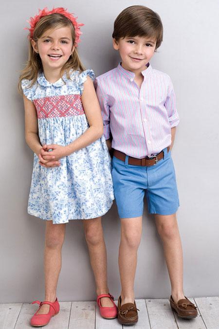 ست لباس دختر بچه ها و پسر بچه های کوچک