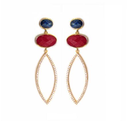 مدل گوشواره های جدید زنانه از برند Melanie Auld