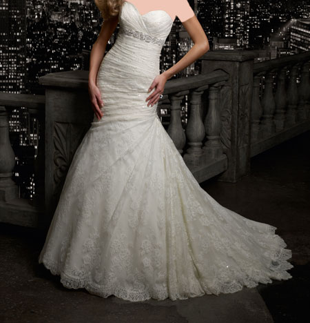 لباس عروس های دکلته بسیار شیک و جدید