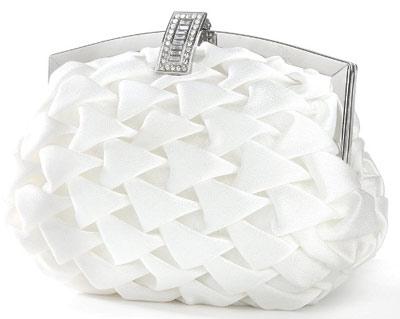 سری جدید کیف عروس خانم ها به رنگ سفید