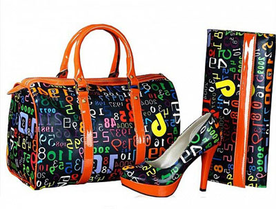ست بسیار زیبا از کیف و کفش مجلسی