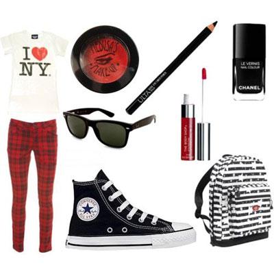 ست لباس جذاب دخترانه اسپرت 2015