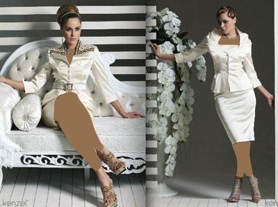 مدل بسیار زیبا از کت و دامن های مجلسی زنانه