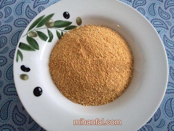 طرز تهیه پودر سوخاری خانگی
