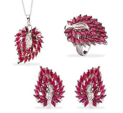 مدل جواهرات رنگی بسیار زیبا و جدید
