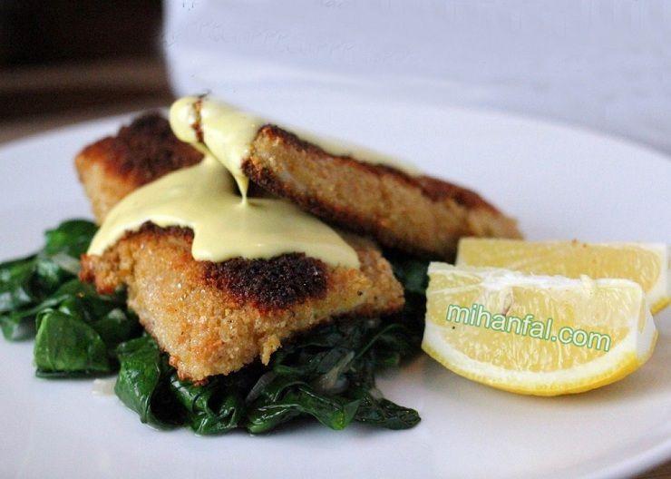 طرز تهیه شنیسل ماهی خوشمزه