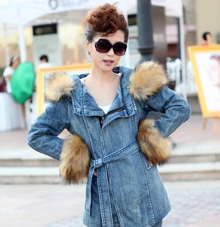 مدل های جالب از پالتو خزدار دخترانه