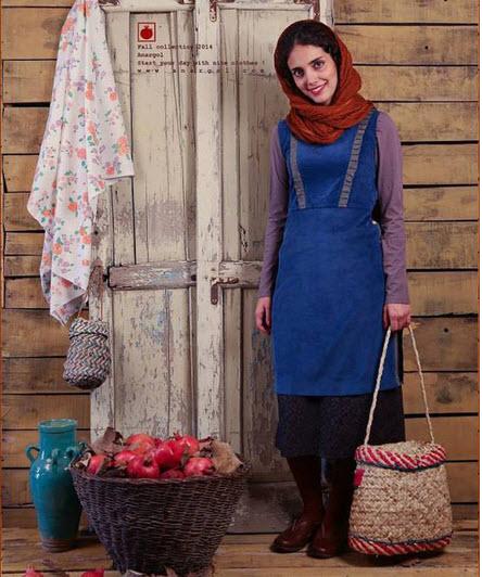 مانتو های جذاب ایرانی از برند انار گل