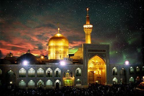 اس ام اس مخصوص تبریک تولد امام رضا (ع)