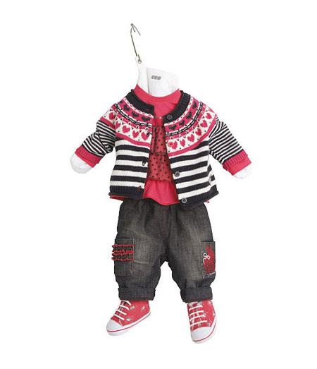 مدل لباس نوزادی بسیار زیبا