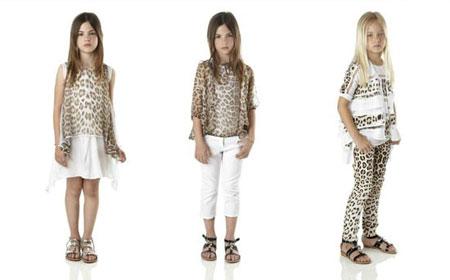 مدل زیبا از لباس دختر بچه ها از برند Roberto Cavalli
