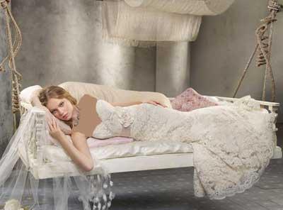 لباس عروس پفی زیبا و جدید