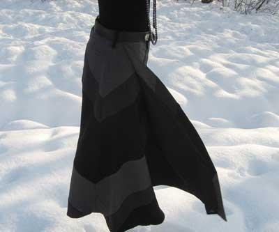 دامن های بسیار زیبای بلند ایرانی