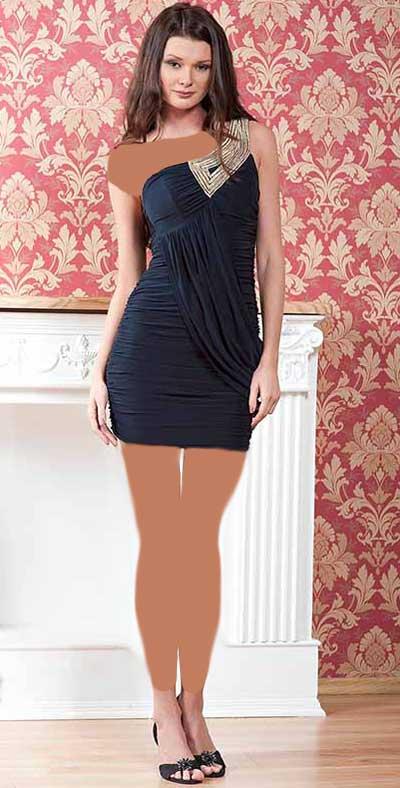 مدل لباس مجلسی کوتاه دخترانه 2015