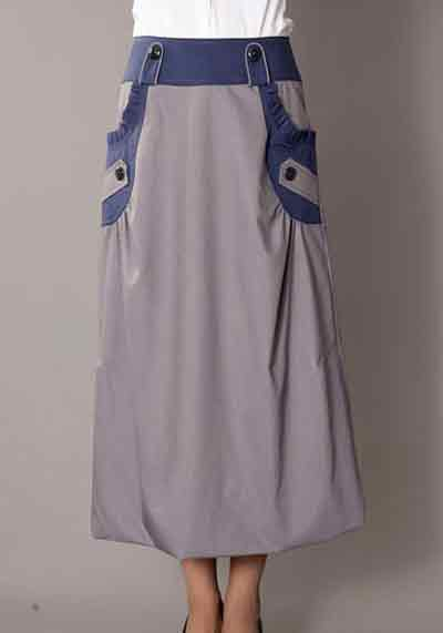 دامن های بسیار شیک بلند زنانه