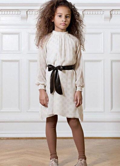 مدل های زیبا از لباس پاییزه دختر بچه ها