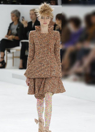 مدل لباس پاییزه از برند شانل