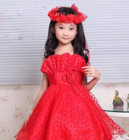 مدل ناز از لباس های مجلسی بچگانه