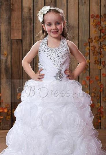 مدل های جدید لباس عروس بچگانه