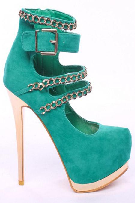 مدل کفش های پاشنه نوک تیز زنانه