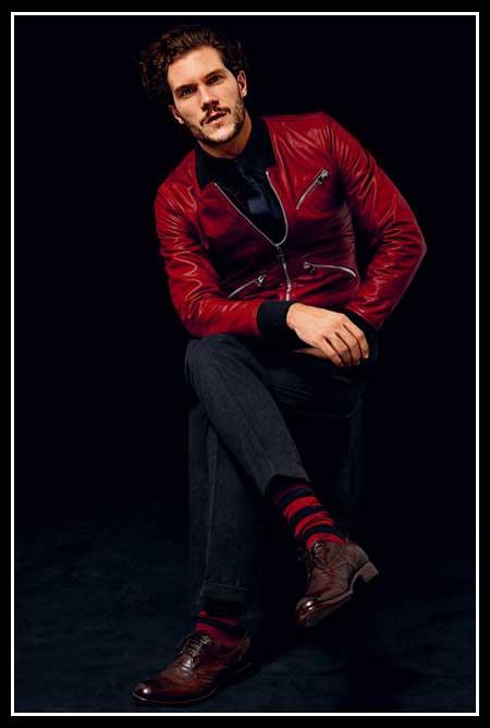 مدل جذاب از لباس مردانه پاییزی