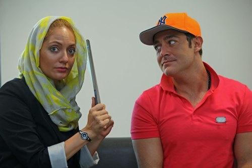 مهناز افشار و محمدرضا گلزار همبازی شدند +عکس