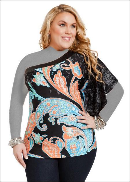 لباس های جدید ویژه خانم های چاق